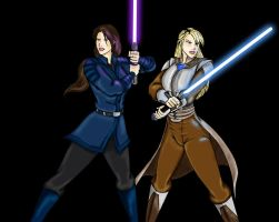 Revan and Exile by Herbie91