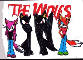 The wolfs by RACHLOVEDRAW
