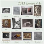 2013 Summary of Art by Amai-Rose