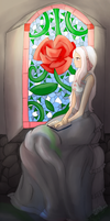 CC - Stained Glass by Drakon-the-Demon