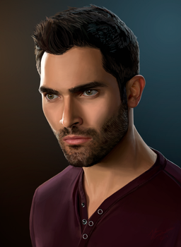 Tyler Hoechlin - Derek Hale by johnneh-draws