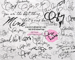 Taylor Swift Autograph PNG PSD by Krazy-Kriti