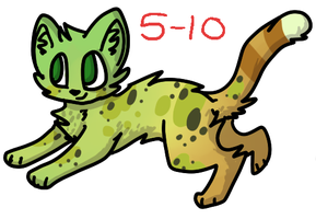 Cheetah Adopt #6 by PPPSavings