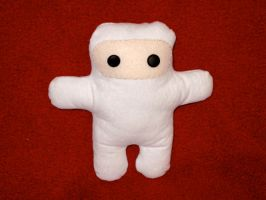 Shawnimals - White Ninja by bassoonhero
