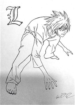 L lawliet by eve12no2name