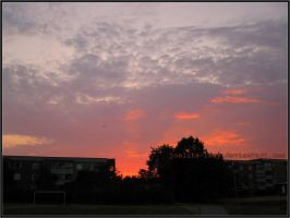 Sunset In Sweden by Joalita-lady