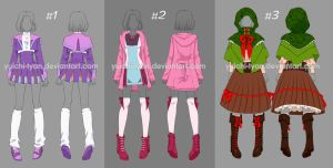 Adopt cute Outfit (CLOSED) by YuiChi-tyan