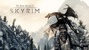TES V: Skyrim Dragon by GenerationK1LL