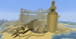Desert Temple by ZacheryGangrel