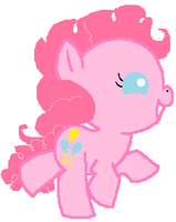 baby pinkie pie by theladyinred002