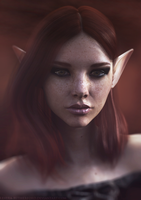 Georgia | 3D Fantasy Portrait by Lehira-Rutherford