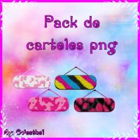 Pack de carteles png by celesthe1