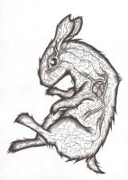 Fracture bunny by Shonsu