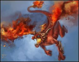 Charizard For real by Baldraven