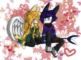 Lucas x Mikaela Form Collab by NightSaber