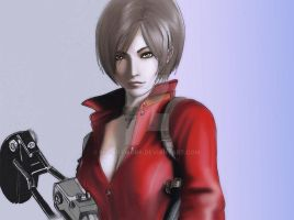 Ada Wong (Color) by MT-Artwork