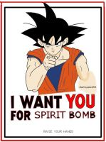i want you for genkidama by darkspeed54