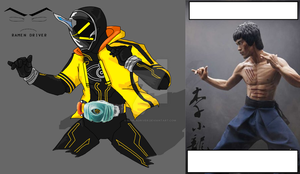 Kamen Rider Ghost  - Bruce Lee Damashii by RamenDriver