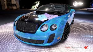 Trixie Bentley Continental SS by Crystal-Eclair