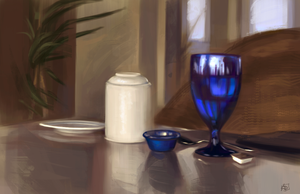 Still life 2- Seaside Table by skybrush