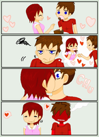 Pepperony Cake Comic Collab w Crazytomboy78 by Finny-KunGoddess