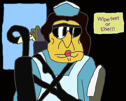 Wipe feet or Else!!! by conlimic000