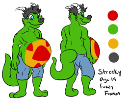 -Streeky Ref Sheet by PlumpProductions