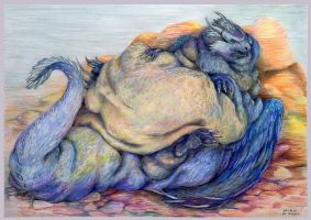 Saphira in fat 2012 by SSsilver-c