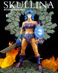 Skullina, original character custom MOTUC figure. by ACCustomFiguresACCF