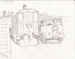 The Horrid Lorry (RWS style) by IsleofOahu
