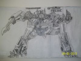 Optimus Prime by Eternal--Art