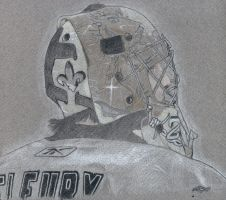Marc-Andre Fleury by Xerone