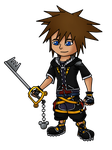 Chibi Sora Kingdom Hearts 2 by Staceyk93