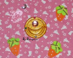 Sailor Moon - anime, Prism Power brooch - locket by Bunnymoon-Cosplay