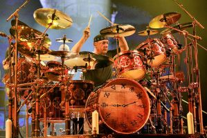 Rush in Hamilton:  Neil Peart I by basseca