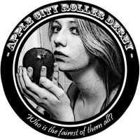 Apple City Roller Derby Logo by KMoongangSR