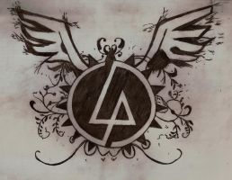 linkin park logo by 1xwhiplashx1