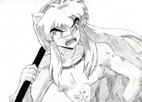 Mad Inuyasha by Akai-Kitsune09