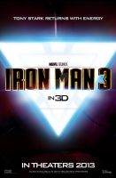 Iron Man 3 - Teaser Poster by jphomeentertainment