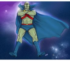 Martian Manhunter by thatoddowl