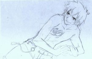 gray fullbuster sketch by Suihara