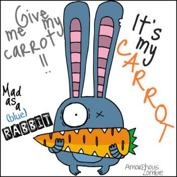 Mad as a rabbit ID by AmorphousZombie