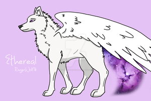 Ethereal ref sheet by RageWolf16