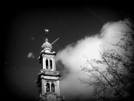 Curch Tower in Amsterdam by Photo-Queen6