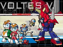 SD VOLTES V by the-tracer