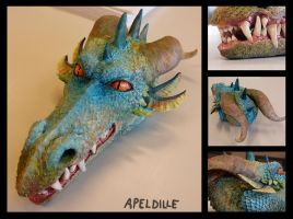 Dragon by apeldille