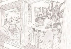 Naruto's Family by Freya-chii