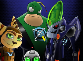 Ratchet and Clank: All4One by RoboticMasterMind