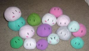 Clannad Dango Family plushes by pandari