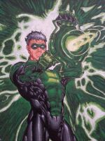 Green Lantern close up by Pooter-84